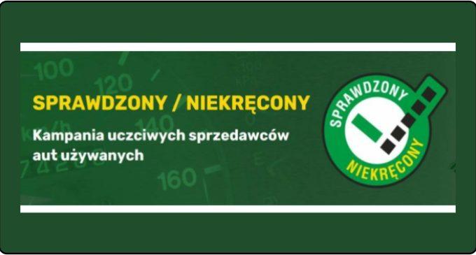 RUSZA KAMPANIA UCZCIWYCH SPRZEDAWCÓW AUT UŻYWANYCH SPRAWDZONY/NIEKRĘCONY